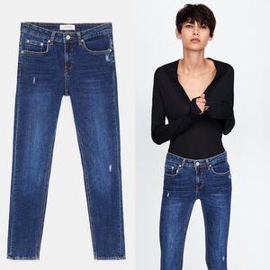ZARA The Skinny Jeans in Sunset Blue